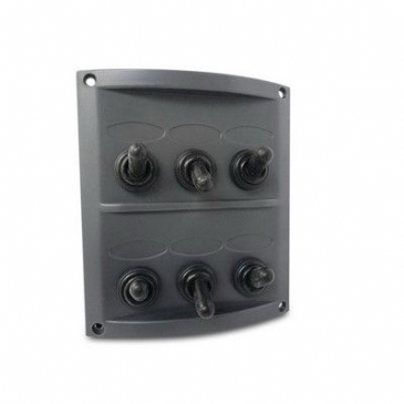 PANEL 6 WAY FUSE/SWITCH SPLASHPROOF 1006